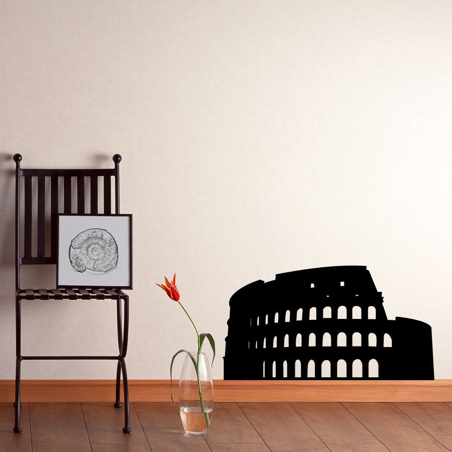 Coliseum Vinyl Wall Decal