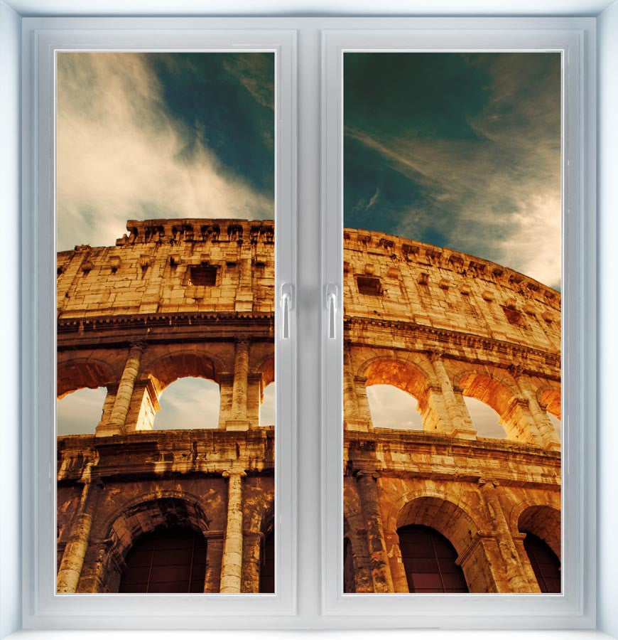 Colosseum Amphitheater Instant Window