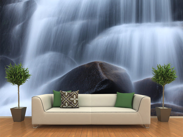 Cool Zen Stream Wall Mural