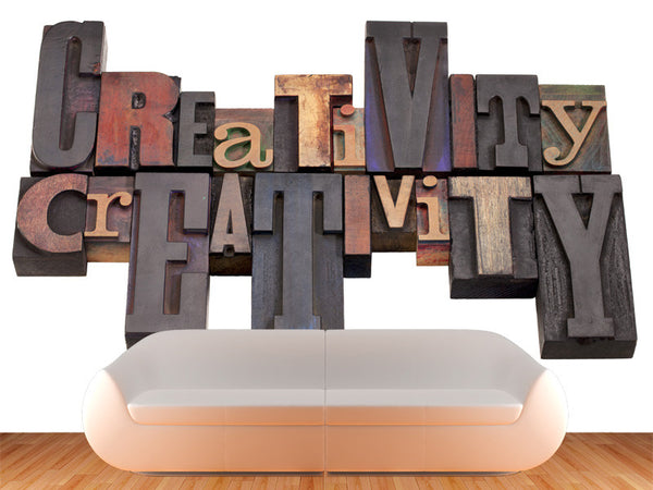 Creativity Wall Mural