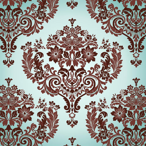 Damask Pattern Wall Mural