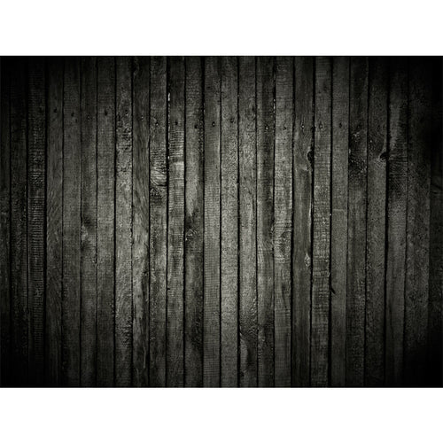 Dark Wood Texture Wall Mural