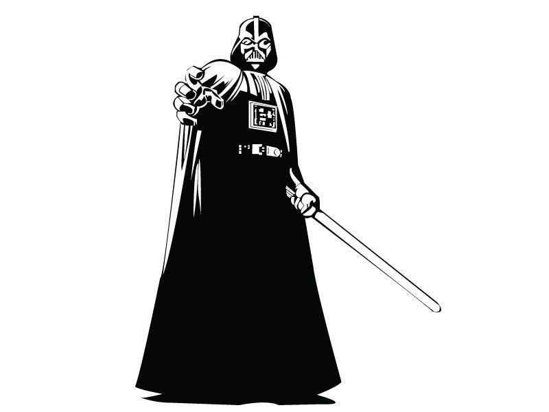 Darth Vador Wall Decal