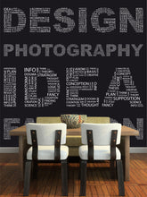 Load image into Gallery viewer, Design Word Collage Wall Mural
