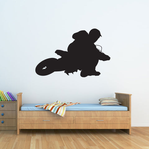Kids Nursery Wall Decals Vinyl Wall Art Dirt Bike Wall Decal