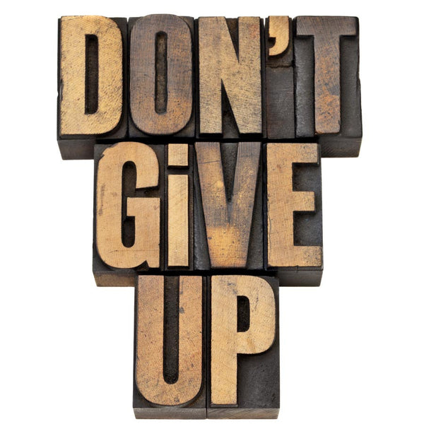 Don't Give Up Wall Mural