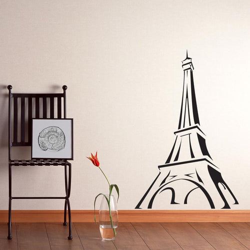 Eiffel Tower Sketch Vinyl Wall Decal