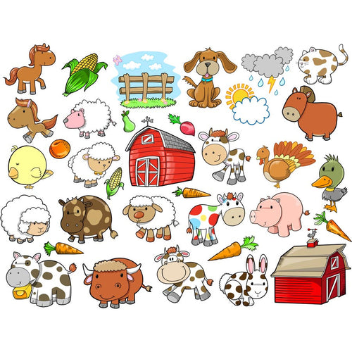 Farm Animal Wall Murals
