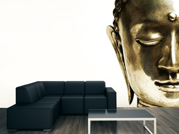 Golden Buddha Wall Mural
