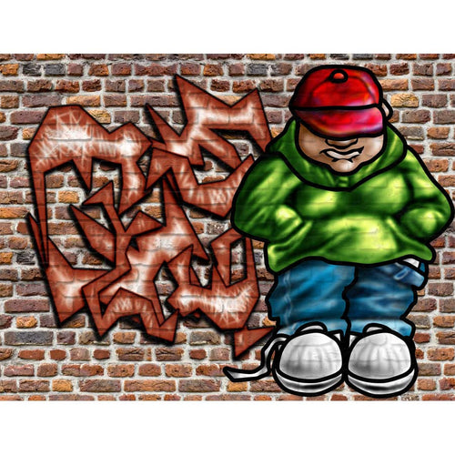 Graffiti Art Wall Mural