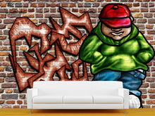 Load image into Gallery viewer, Graffiti Art Wall Mural