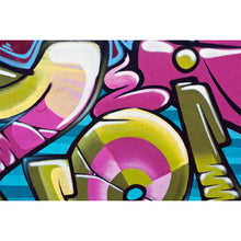 Load image into Gallery viewer, Graffiti Background 2 Wall Mural