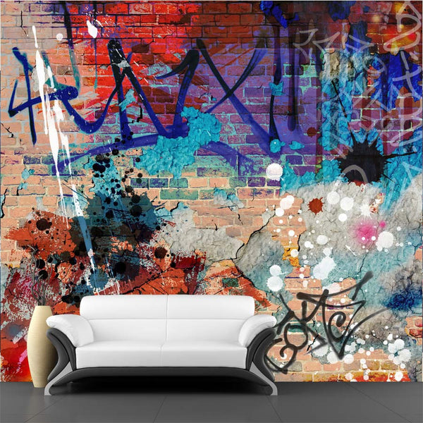Graffiti Background Wall Mural