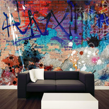 Load image into Gallery viewer, Graffiti Background Wall Mural
