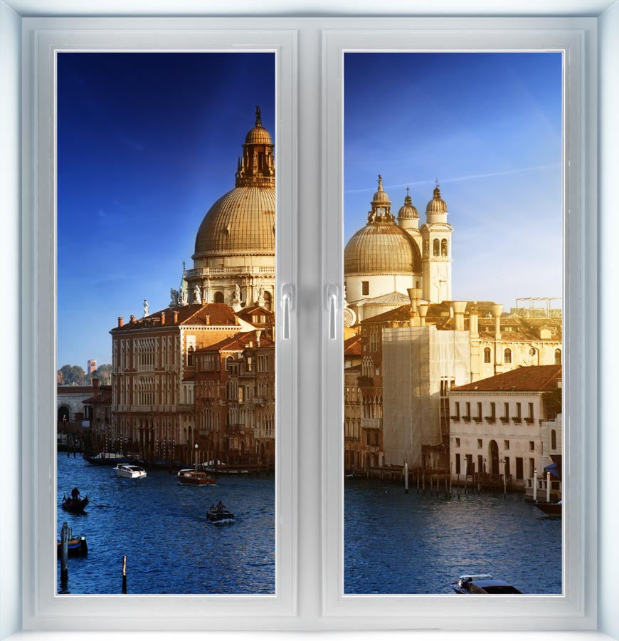 Grand Canal Italy Instant Window