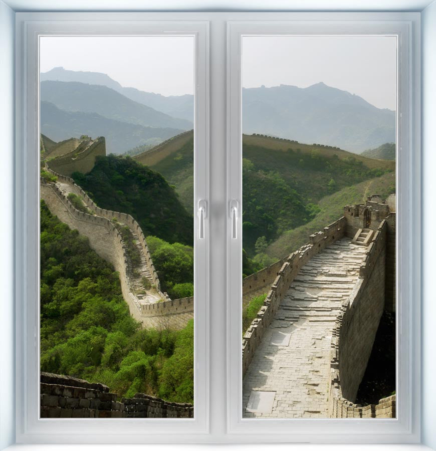 Great Wall of China Instant Window