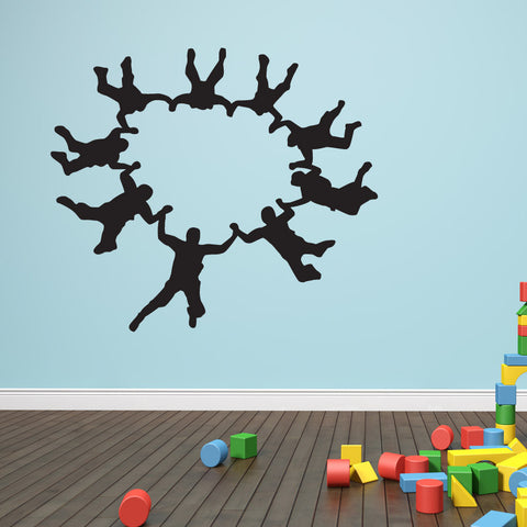 Group Skydive Wall Decal Part 79