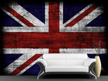 Load image into Gallery viewer, Grunge Britain Flag  Wall Mural