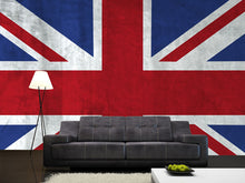 Load image into Gallery viewer, Grunge UK Flag Wall Mural