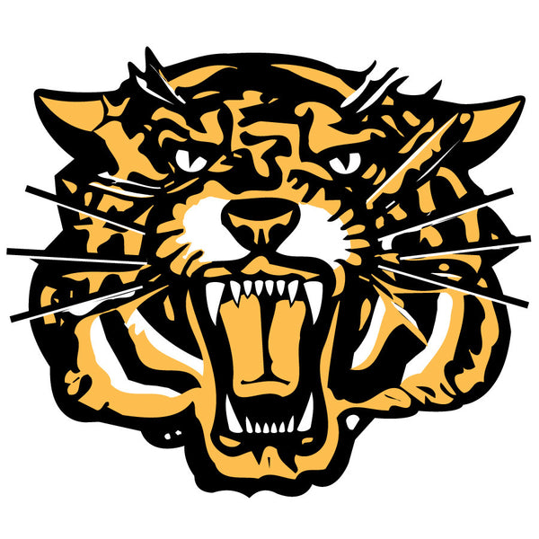 Hamilton Tiger Cats Logo Wall Decal 2