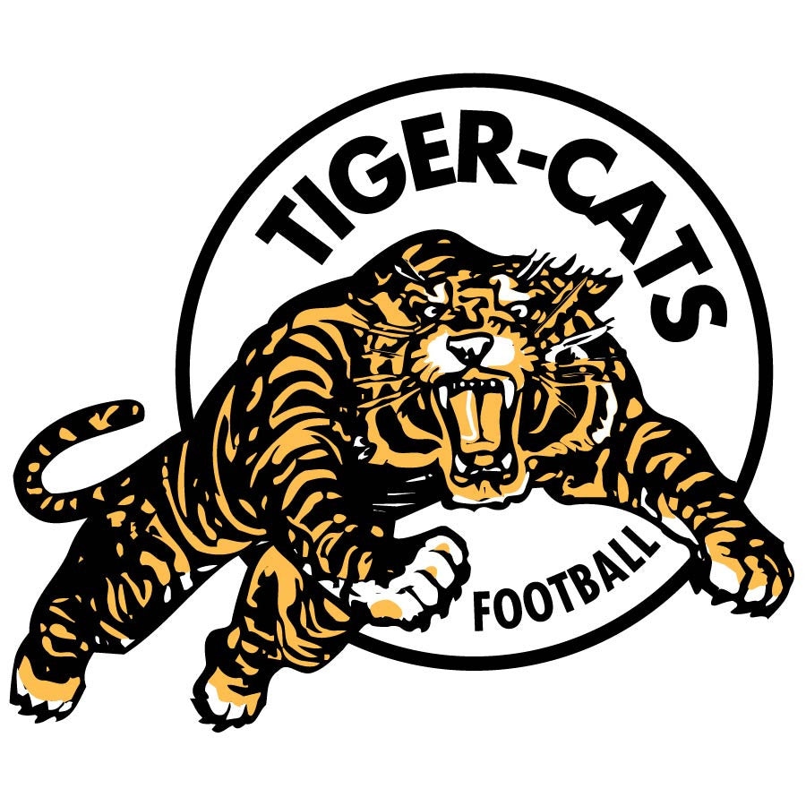 Hamilton Tiger Cats Logo Wall Decal 3