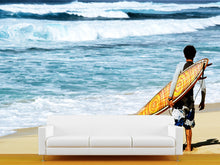 Load image into Gallery viewer, Hawaiian Surf Wall Mural