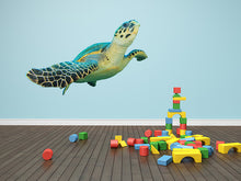 Load image into Gallery viewer, Hawksbill Sea Turtle Wall Decal