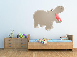 Hippopotamus Wall Decal
