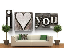 Load image into Gallery viewer, I Love You Wall Mural