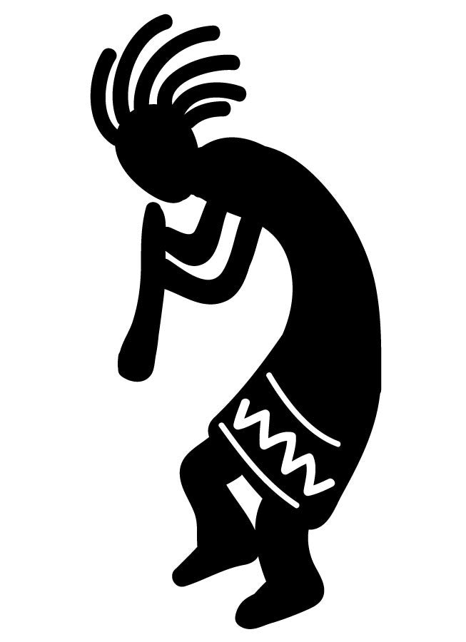 Kokopelli Music 3 Wall Decal