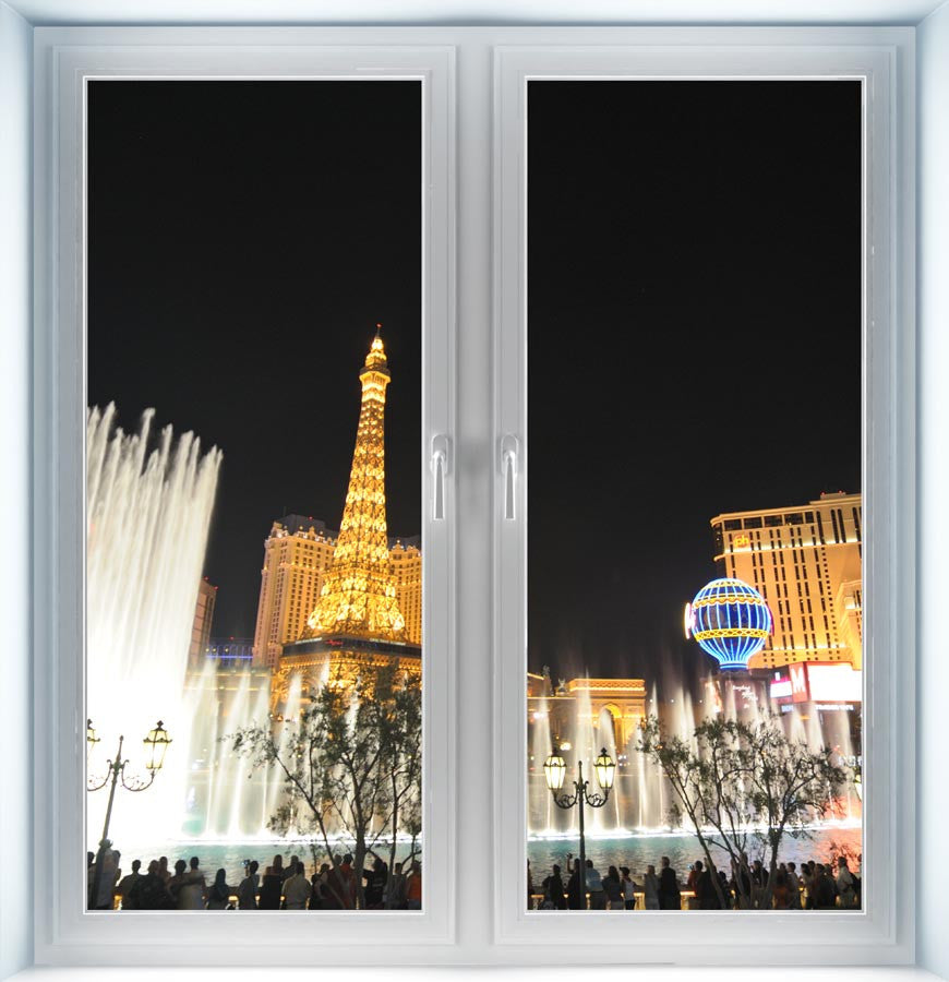 Las Vegas Strip Instant Window