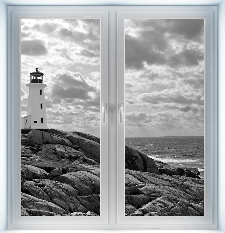 Lighthouse at Peggy's Cove Instant Window