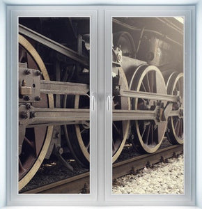 Locomotive Wheels Closed Instant Window