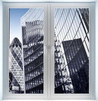London Financial District Instant Window