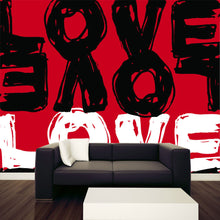 Load image into Gallery viewer, Love Illustration Wall Mural