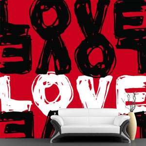 Love Illustration Wall Mural