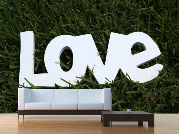 Love You Wall Mural