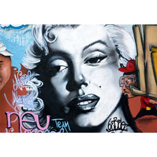 Load image into Gallery viewer, Marilyn Monroe Graffiti Wall Mural