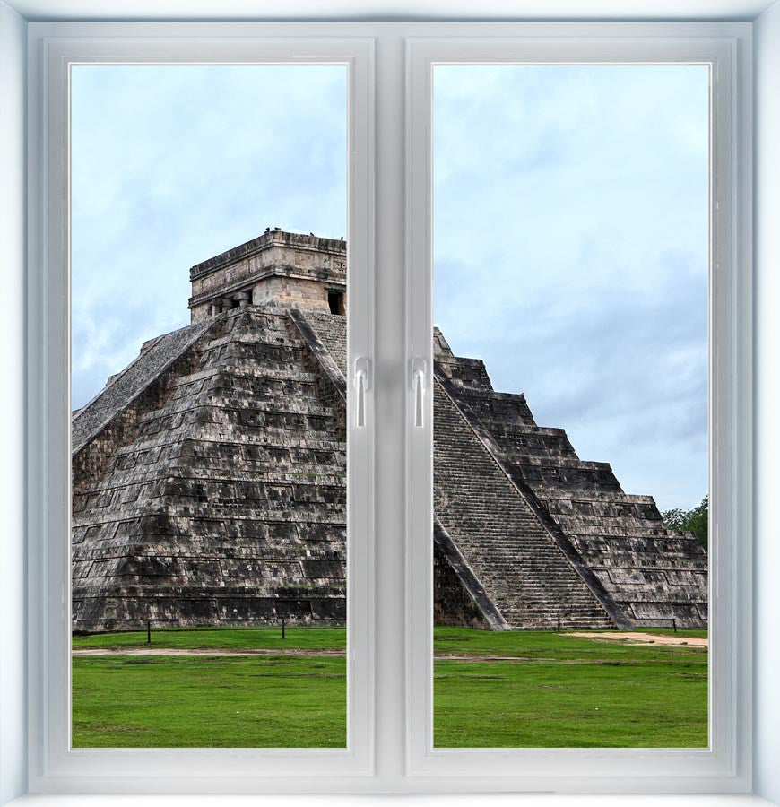 Mayan Pyramid Instant Window