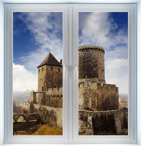 Medieval Castle Instant Window