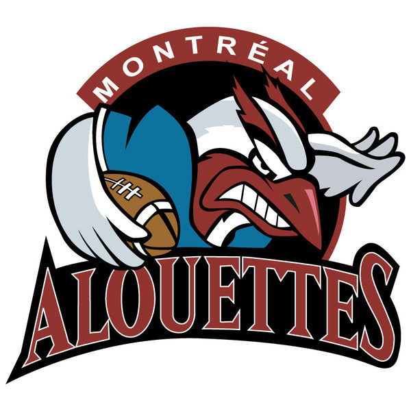 Montreal Alouettes Logo Wall Decal 3