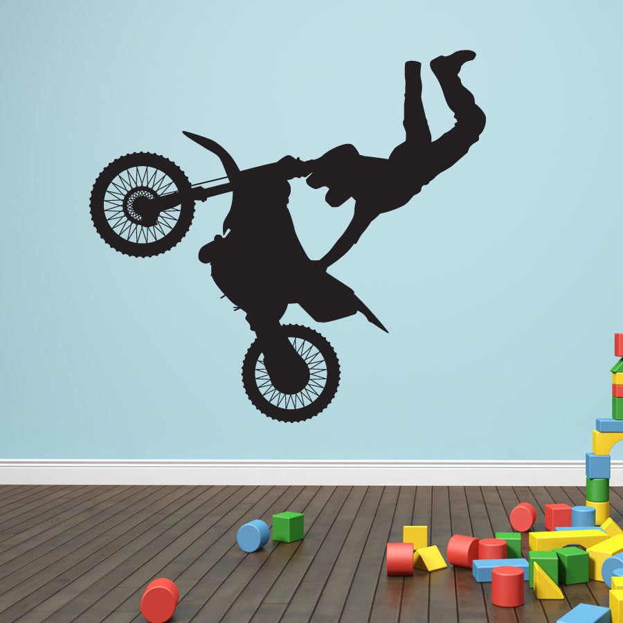 Motorcross Wall Decal