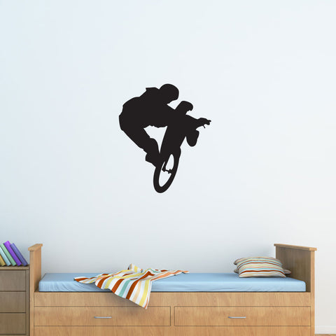 Mountain Biking Wall Decal
