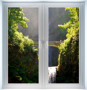 Multnomah Waterfalls Instant Window