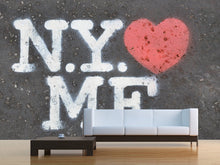 Load image into Gallery viewer, NY loves Me Wall Mural