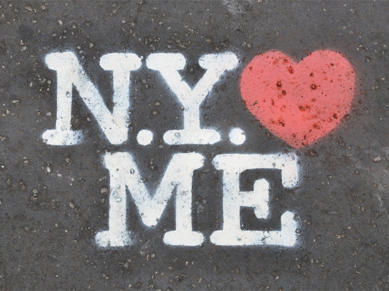NY loves Me Wall Mural