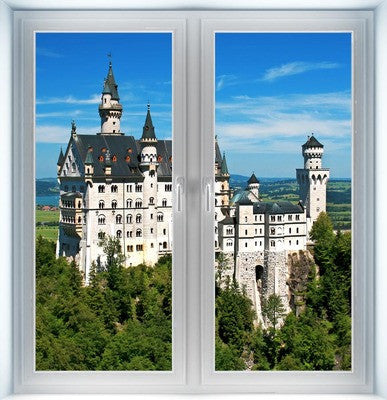 Neuschwanstein Castle Instant Window