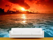 Load image into Gallery viewer, Ocean at Dusk Wall Mural