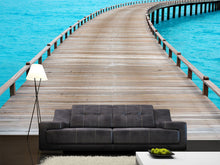Load image into Gallery viewer, Old Wooden Jetty Wall Mural