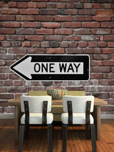 Load image into Gallery viewer, Brick Wall with One Way Sign Wall Mural